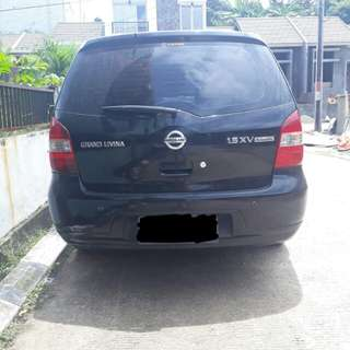 Take Over nissan grand livina 15XV Automatic 2012