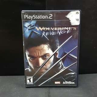PS2 Wolverine's Revenge (Used Game)