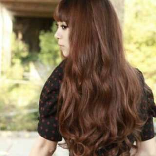 🌷Korean Fashion Long Curly Cosplay