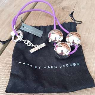 Marc Jacobs silver ball necklace