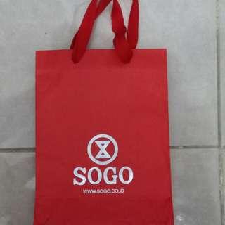 Paperbag / Paper Bag / Tas Karton Sogo Small