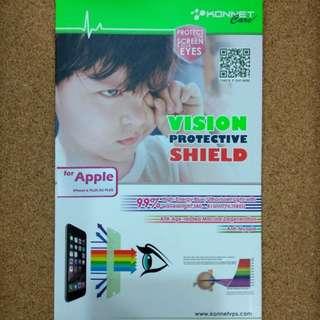 🆕全新包郵 iPhone 6 plus/ 6S plus 藍光護眼Mon貼