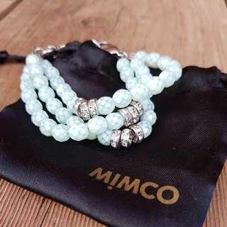 Mimco blue bracelet