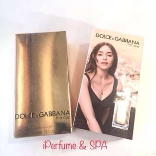 D&G The One - Promo!