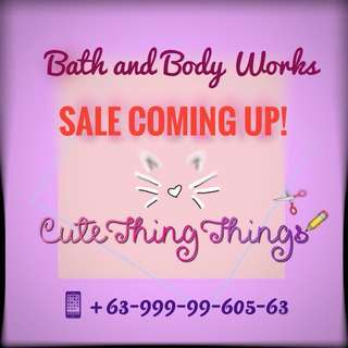 Original Bath & Body Works Sale Coming Up!