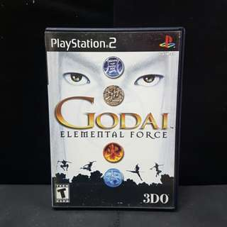 PS2 Godai Elemental Force (Used Game)