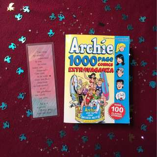 Archie 1000 Page Comics Extravaganza (Free Bookmark)