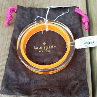 Kate Spade resin bangle