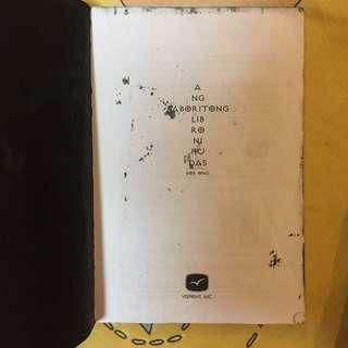 Bob Ong Ang Paboritong Libro ni Hudas