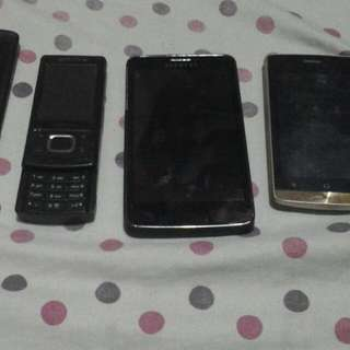 Various Defective Phones