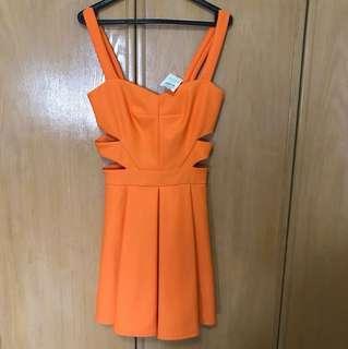 Miss Selfridge Cutout Dress