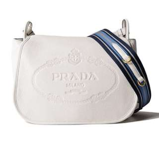 Prada Vit.Daino Shoulder Bag