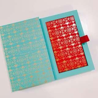 $180 如意吉祥 恭喜發財 利是封 Tiffany red pocket (1盒8個) 2018年 新款