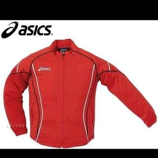 全新 購自日本 原裝 Asics XTT336 Training jacket 運動外套 (红色) 原價9180円