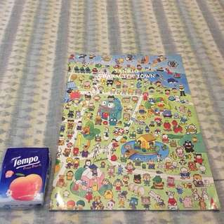 Sanrio Character Town Note book (1995年)
