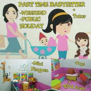 Part Time Babysitter Pengasuh Separuh Masa