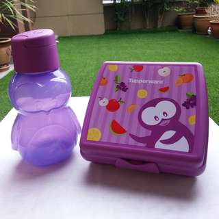 Eco kids bottle & sandwich keeper