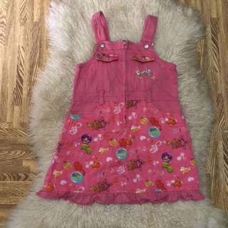 Denim jumpsuit  fits to 3-6 years old/contact #09956396640