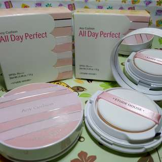 Etude House BB Cream Any Cushion All Day Perfect SPF50+