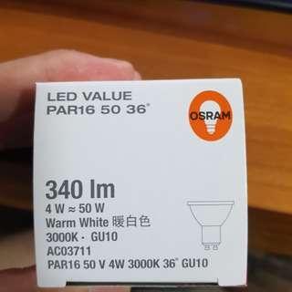 Osram Gu10 Par16 Warm White LED