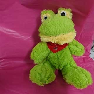 【庫存品出清】旅行到厭世的青蛙寵物玩具$100元