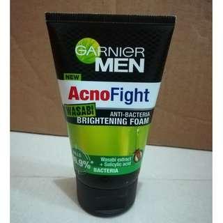 Garnier Men AcnoFight Wasabi Brightening Foam (100mL)