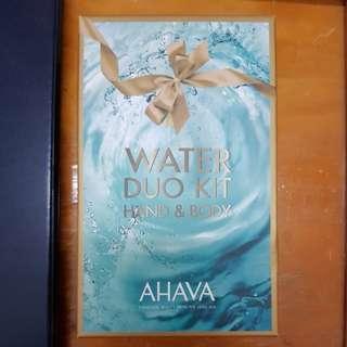 AHAVA Dead Sea Water Duo Kit (Hand & Body)