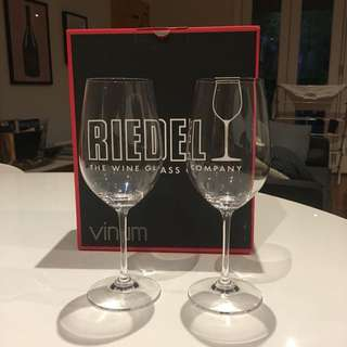 Riedel Riesling Sangiovese Glasses x2
