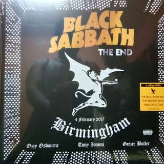 Black Sabbath - The End (3x vinyl)