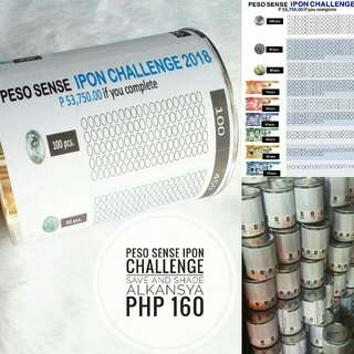 Peso Sense Ipon Challenge Alkansya Save And Shade