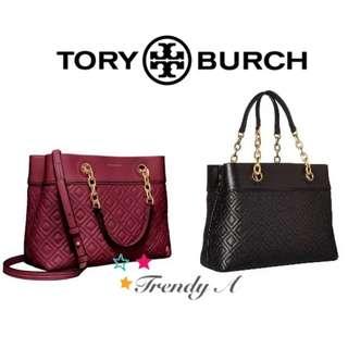 Trendy A 美國 正版包郵 Tory Burch Fleming Tote 女士手袋
