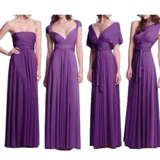 Infinity gown