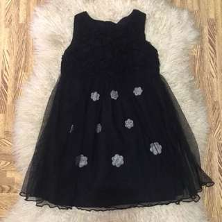 Tutu Black dress fits UP to 2-4 yars old