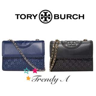 Trendy A 美國 正版包郵Tory Burch Fleming Convertible Bag Large 手袋 [2色]