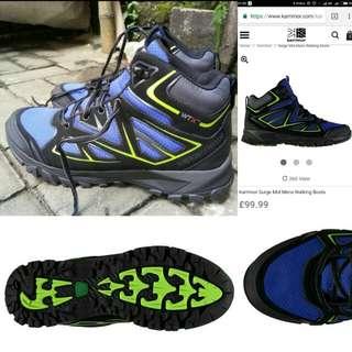 Sepatu gunung/outdoor Karrimor Surge WTX mid, mulus n original 100%... Murah meriah!!! #cintadiskon