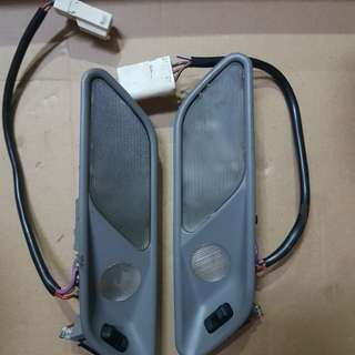 Bmw e34 rear reading light