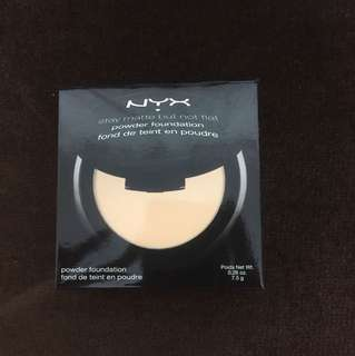 (Preloved) NYX stay matte but not flat powder foundation