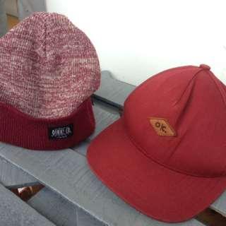 Oink! Co. Beanie & Hat Maroon