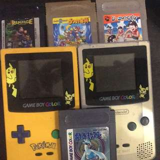 Gameboy color pokemon edition