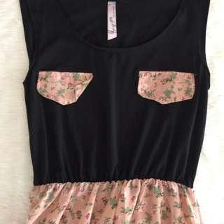 Semi floral Dress