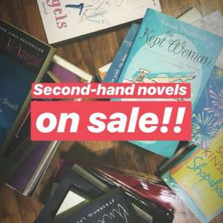 Second Hand ChickLit/RomCom Novels
