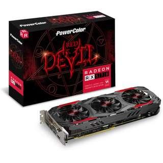 POWERCOLOR RED DEVIL RX 570 4GB  OC RX570