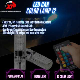 LED 12 Color Lamp Fog Tail Corner Bumper Lamp AVS