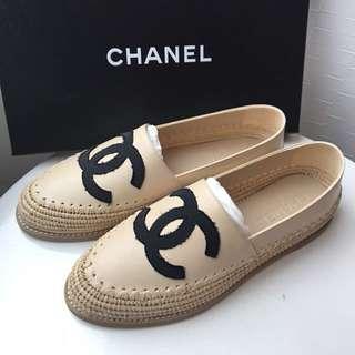 Chanel 漁夫鞋 38 size