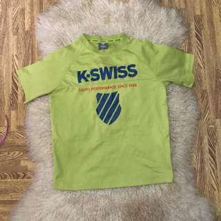 Authentic Kswiss fits to 4-7 years old