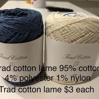 Trad cotton yarn