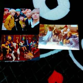 防彈少年團照片卡 一張12