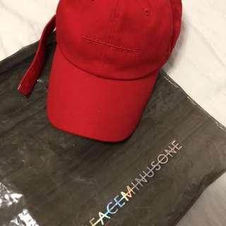 Peaceminusone cotton cap