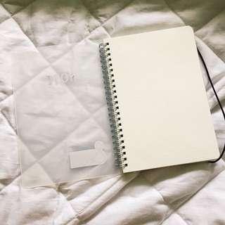 MUJI INSPIRED NOTEBOOKS - DOTTED