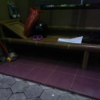Kursi murah/kursi santai/kursi bambu